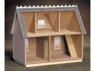 Victorian Cottage Dollhouse back